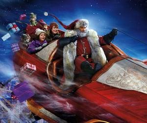 christmas, movie title, and santa klaus image
