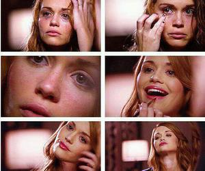 make up, teen wolf, and sad.tears image