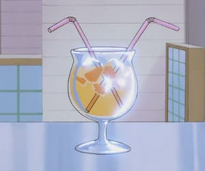 aesthetic, drink, and anime image