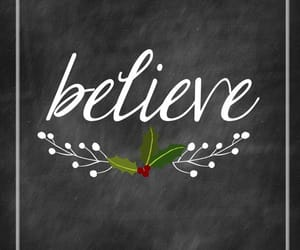 believe and christmas image