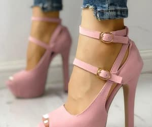 boots, fashionable, and highheels image