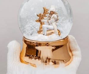 fashion, gold, and merry christmas image