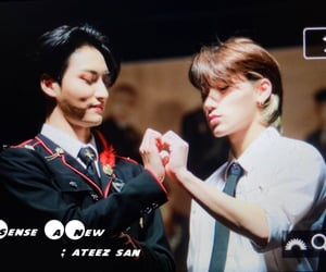san, choi san, and ateez image