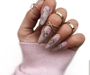 beauty, nails, and ornaments image