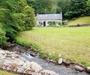 stone cottage image