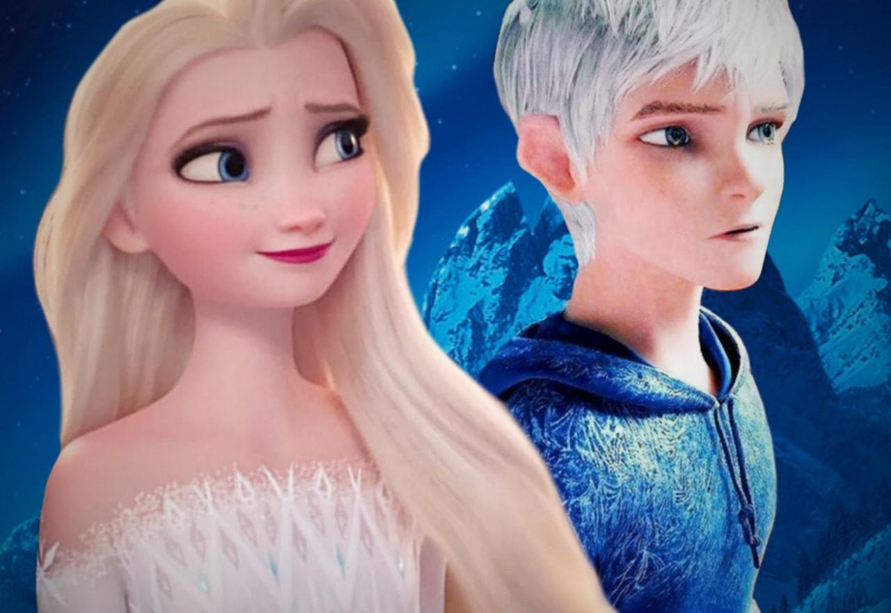 Jelsa Elsa and Jack Frost Frozen 2 Jelsa on We Heart It