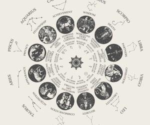 zodiac, astrology, and virgo image
