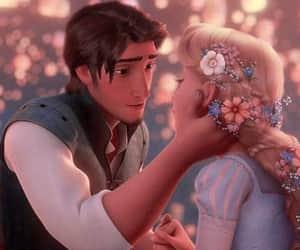 disney, love, and rapunzel image