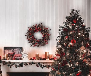 christmas, home, and new year image