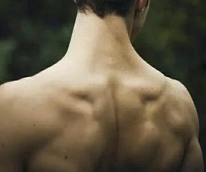 boy, back, and sexy image