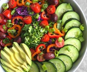 avocado, chilli, and cucumber image