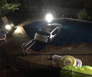 car, tumblr, and pool image