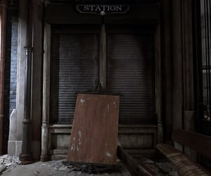 abandoned, station, and dishonored image