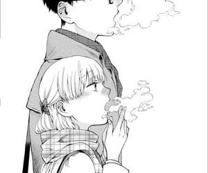anime girl, couple, and kawaii image