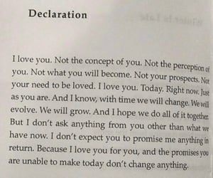 declaration, I Love You, and lovers image