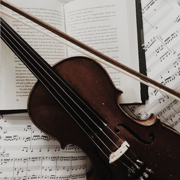 violin and music image