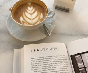 art, books, and cafe image