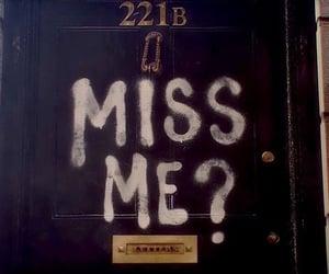 miss, sherlock, and 221b image