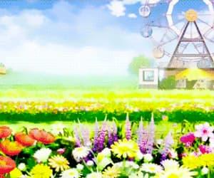 anime, flowers, and madoka kaname image