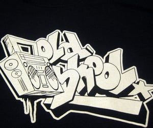 boom box, hiphop, and oldschool image