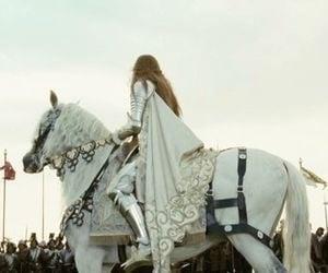 fairytale, fashion, and horse image