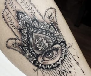 arm, eye, and pretty image
