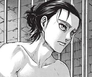jager, manga, and monochrome image