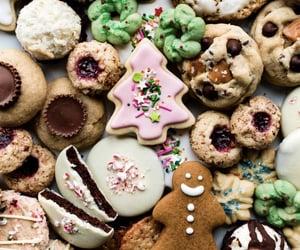 Cookies, chocolate, and christmas image