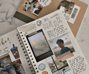 aesthetic, beige, and journaling image