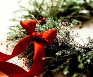 bow and christmas image
