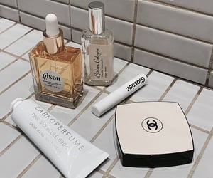 chanel, beauty, and glossier image