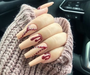 beauty, nails, and love image