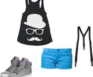 shorts, supra, and suspendres image