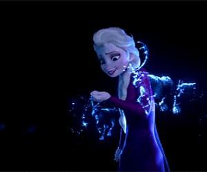 animation, elsa, and frozen 2 image