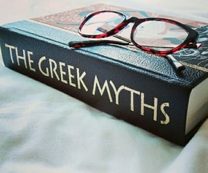 books, myths, and Greece image