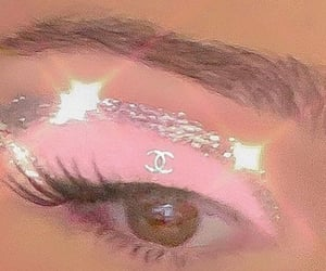 pink, makeup, and chanel image