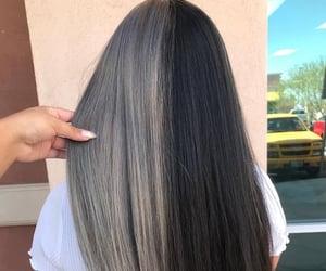 hair, hair dye, and hair color image