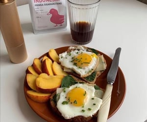 eggs, food, and yum image