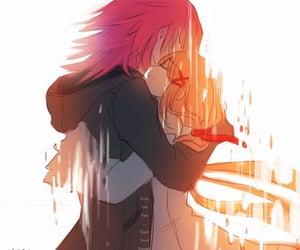 anime, anime girl, and kingdom hearts image