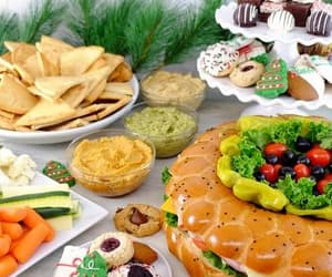 holiday food, party platters, and holiday party platters image