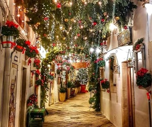 christmas, light, and places image