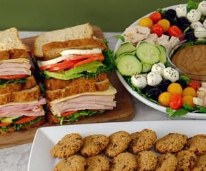 food, sandwich, and party platters image