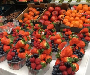 fruit, yummy, and apple image
