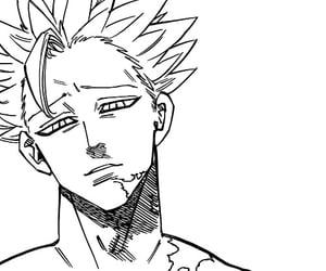 anime, ban, and scan image