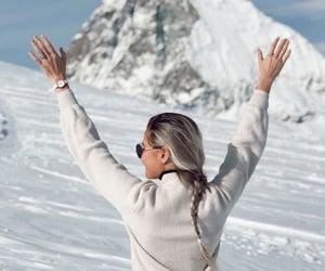 christmas, switzerland, and zermatt image