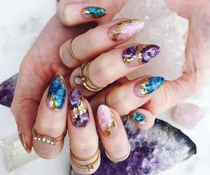 nails, beauty, and aesthetic image