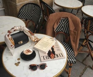 coffee, style, and cafe image