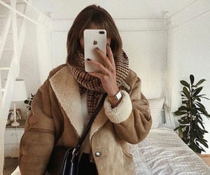 bedroom, jacket, and winter image