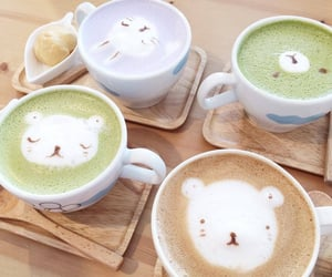 soft, theme, and coffee image