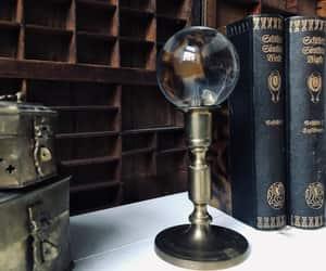 boho, crystal ball, and decor image